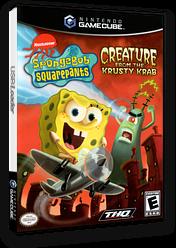 SpongeBob SquarePants: Creature from the Krusty Krab GameCube cover (GQ4E78)