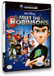 Meet the Robinsons GameCube cover (GQTE4Q)