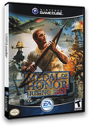 Medal of Honor: Rising Sun GameCube cover (GR8E69)