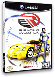 R: Racing Evolution GameCube cover (GRJEAF)