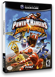 Power Rangers Dino Thunder GameCube cover (GRUE78)