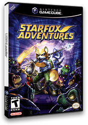 Star Fox Adventures GameCube cover (GSAE01)