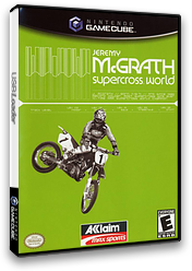 Jeremy McGrath SuperCross World GameCube cover (GSCE51)