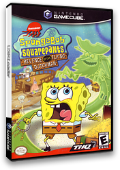 SpongeBob SquarePants: Revenge of the Flying Dutchman GameCube cover (GSQE78)