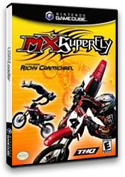 MX Superfly Featuring Ricky Carmichael GameCube cover (GSVE78)