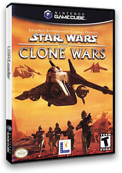 Star Wars: The Clone Wars GameCube cover (GSXE64)