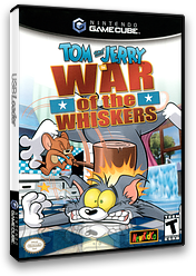 Tom & Jerry in War of the Whiskers GameCube cover (GTJE5L)