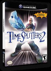 TimeSplitters 2 GameCube cover (GTSE4F)