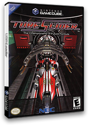 Tube Slider - The Championship of Future Formula GameCube cover (GTUE8G)