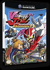 Viewtiful Joe: Red Hot Rumble GameCube cover (GVCE08)