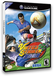 Virtua Striker 2002 GameCube cover (GVSE8P)