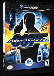 James Bond 007 in Agent Under Fire GameCube cover (GW7E69)
