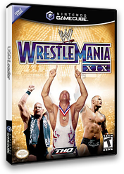 WWE WrestleMania XIX GameCube cover (GW9E78)
