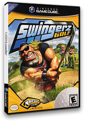 Swingerz Golf GameCube cover (GWGE4F)
