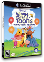 Winnie The Pooh Rumbly Tumbly Adventures GameCube cover (GWHE41)