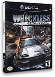 Wreckless: The Yakuza Missions GameCube cover (GWQE52)