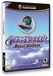 Wave Race: Blue Storm GameCube cover (GWRE01)