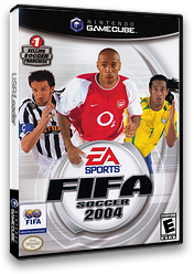 FIFA Soccer 2004 GameCube cover (GXFE69)