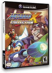 Mega Man X Collection GameCube cover (GXGE08)