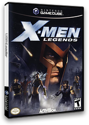 X-Men Legends GameCube cover (GXLE52)