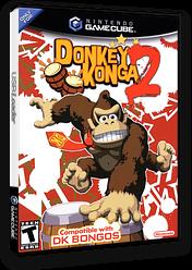 Donkey Konga 2 GameCube cover (GY2E01)