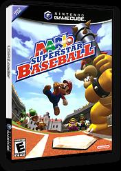 Mario Superstar Baseball GameCube cover (GYQE01)
