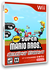 New Super Mario Bros. Wii: Hellboy Edition CUSTOM cover (HBWE01)