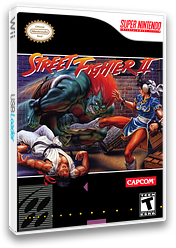 Street Fighter II: The World Warrior VC-SNES cover (JAJE)
