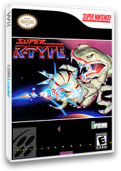 Super R-Type VC-SNES cover (JBYE)