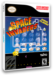 Space Invaders: The Original Game VC-SNES cover (JCKE)