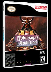 Nobunaga's Ambition VC-SNES cover (JCXE)