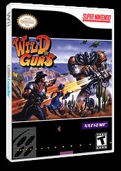 Wild Guns VC-SNES cover (JDVE)