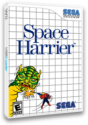 Space Harrier VC-SMS cover (LAHE)