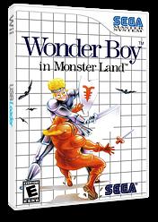 Wonder Boy in Monster Land VC-SMS cover (LAKE)