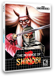 The Revenge of Shinobi VC-MD cover (MCYE)