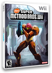 New Super Metroid Bros. Wii CUSTOM cover (METE01)