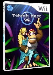 Mario Kart Wii Teknik CUSTOM cover (MKTE01)