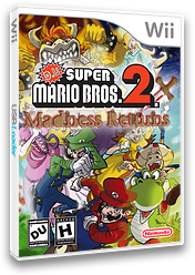 D.U. Super Mario Bros 2.1 Madness Returns CUSTOM cover (MMRE01)