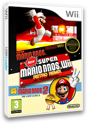 New Super Mario Bros. Wii Retro Remix CUSTOM cover (MRRE01)