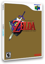 The Legend of Zelda: Ocarina of Time VC-N64 cover (NACE)