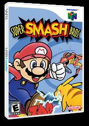 Super Smash Bros. VC-N64 cover (NALE)