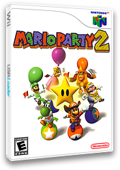 Mario Party 2 VC-N64 cover (NAZE)
