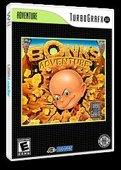 Bonk's Adventure VC-PCE cover (PABE)