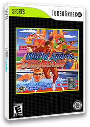 World Sports Competition VC-PCE cover (PB9E)