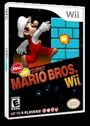 New Old Super Mario Bros. Wii CUSTOM cover (PMNEO1)