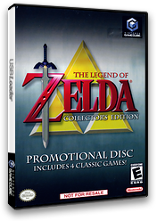 The Legend of Zelda: Collector's Edition GameCube cover (PZLE01)