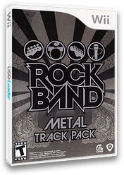 Rock Band: Metal Track Pack Wii cover (R37E69)