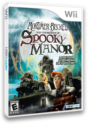 Mortimer Beckett and the Secrets of Spooky Manor Wii cover (R5SERW)
