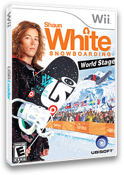 Shaun White Snowboarding: World Stage Wii cover (R6NE41)