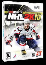 NHL 2K10 Wii cover (R7OE54)